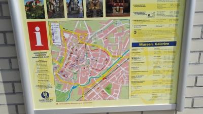Quedlinburg Stadtkarte