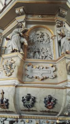 Marktkirche Kanzel