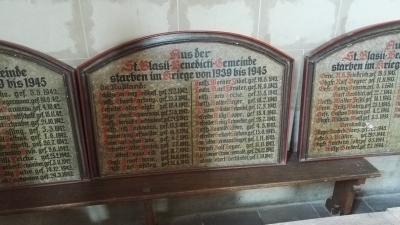 Marktkirche Weltkriegstote II-WK