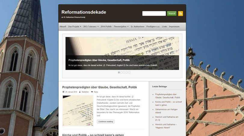 Reformationsdekade.de