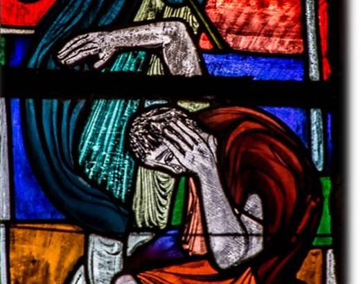 Brudermord Kirchenfenster