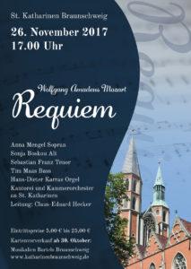 Wolfgang Amadeus Mozart: Requiem @ St. Katharinen Braunschweig