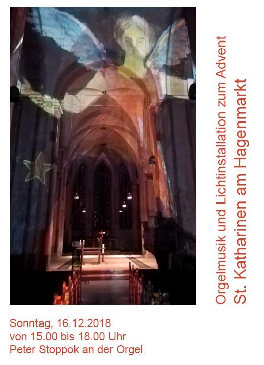 Orgel und Licht zum 3. Advent