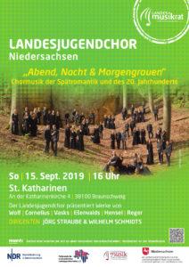 Chorkonzert Landesjugendchor Niedersachsen @ St. Katharinen in Braunschweig | Braunschweig | Niedersachsen | Deutschland