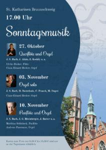 Sonntagsmusik - Querflöte und Orgel @ St. Katharinen in Braunschweig | Braunschweig | Niedersachsen | Deutschland