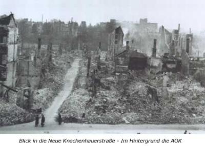 Blick in die Neue Knochenhauerstraße