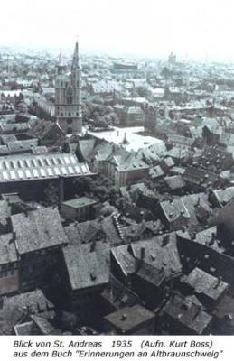 Blick von St. Andreas 1935